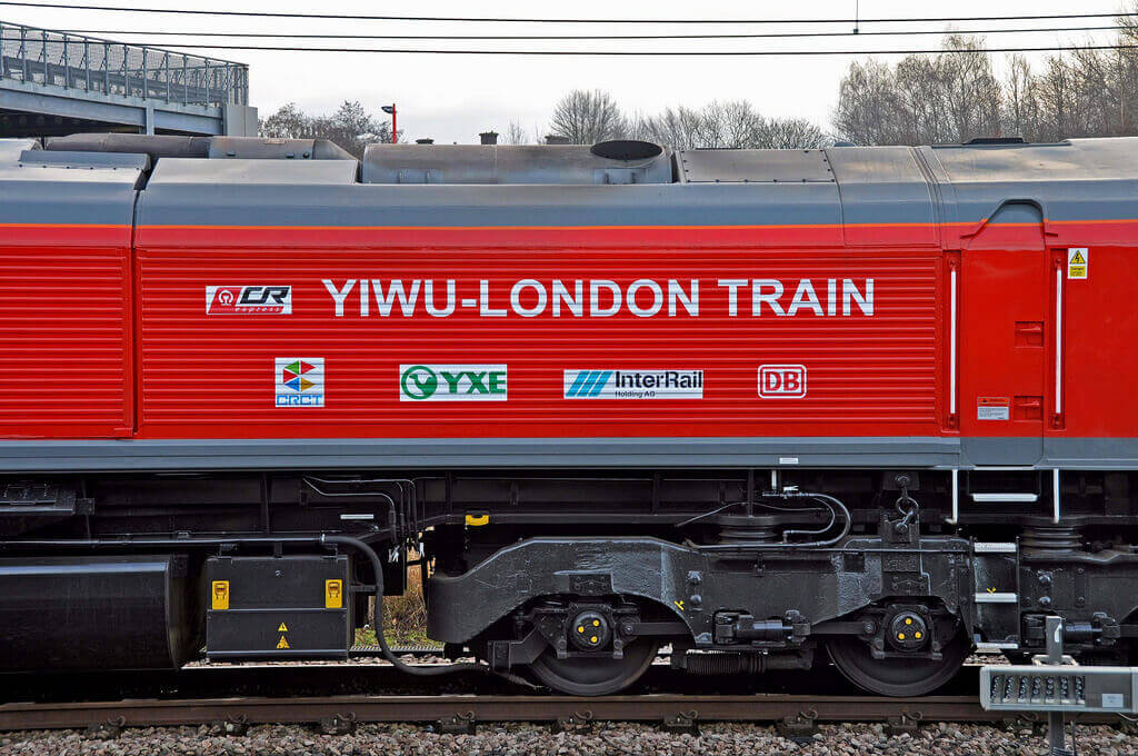 yiwu to London Railway