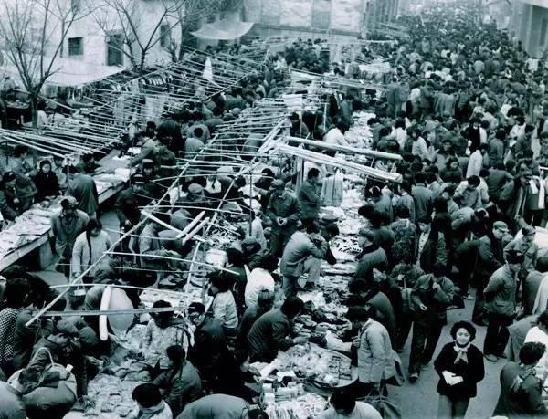 Yiwu's first-generation commodity market.