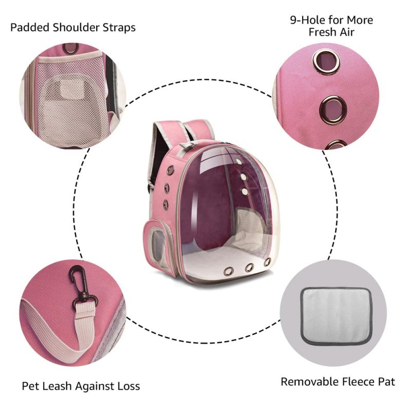 Cat-Carrier-Bags-Breathable-Pet-Carriers-Small-Dog-Cat-Backpack-Travel-Space-Capsule-Cage-Pet-Transp
