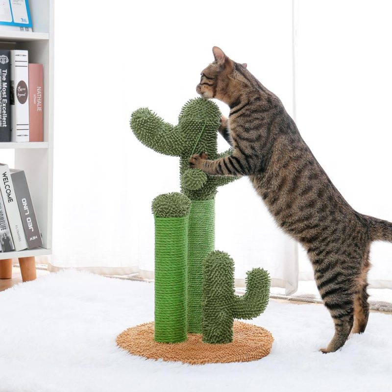 Cute-Cactus-Pet-Cat-Tree-Toys-with-Ball-Scratcher-Posts-for-Cats-Kitten-Climbing-Tree-Cat (2)