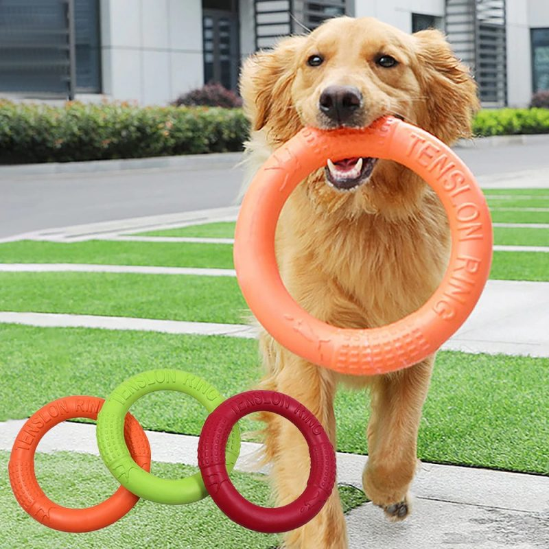 Pet-Flying-Discs-EVA-Dog-Training-Ring-Puller-Resistant-Bite-Floating-Toy-Puppy-Outdoor-Interactive-