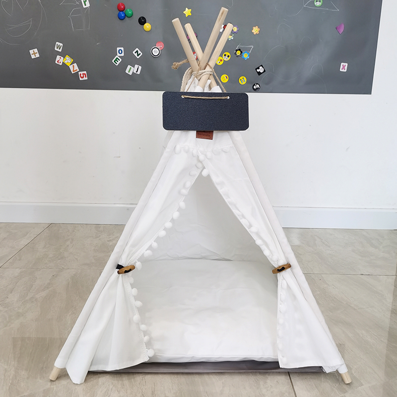 Portable-Linen-Pet-Tent-Dog-House-kitten-House-Washable-Teepee-Puppy-Cat-Indoor-Outdoor-Kennels-Port (1)