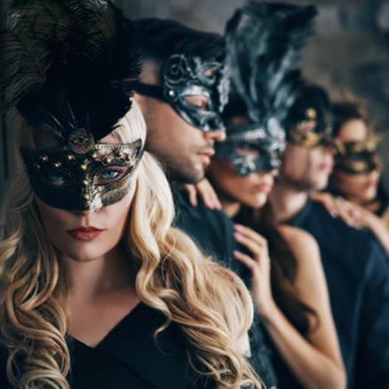 Christmas Masquerade Mask2