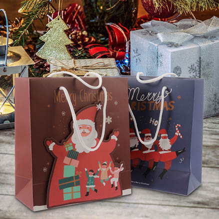 Christmas Paper Gift Bags2