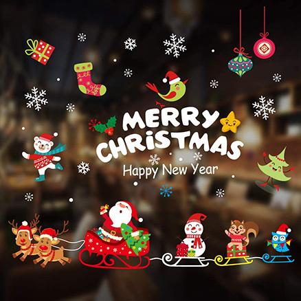 Christmas Window Sticker2